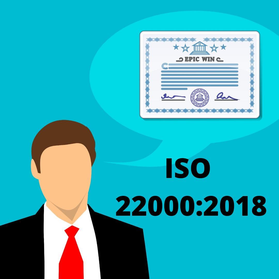 Corso auditor ISO 22000