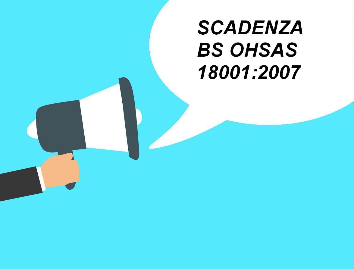 Scadenza 18001.2007